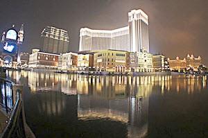 Perjudian di Asia Diwakili oleh The Venetian Macau